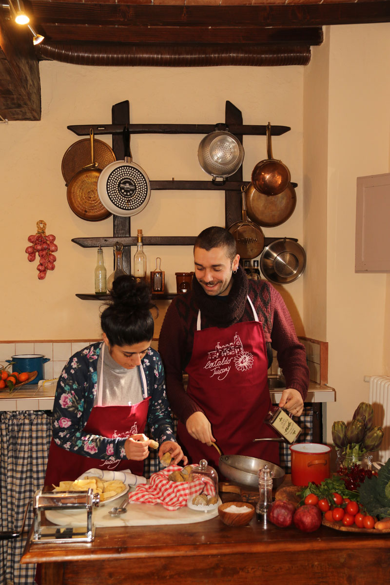 Personal chef in Tuscany